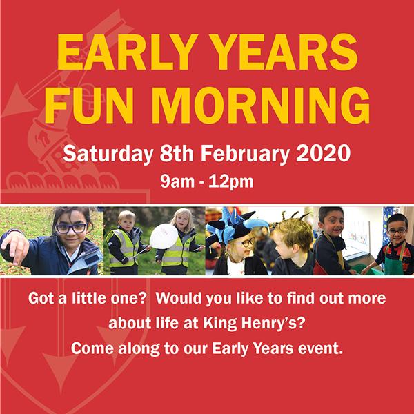 Early Years Fun Morning